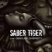 Saber Tiger Live Obscure cover
